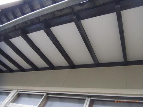 熊本の軒天井塗装 美しく仕上げる塗装。