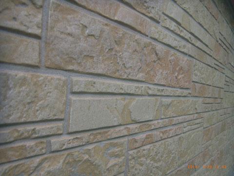 熊本Y様家外壁塗装状況。外壁塗装前です。