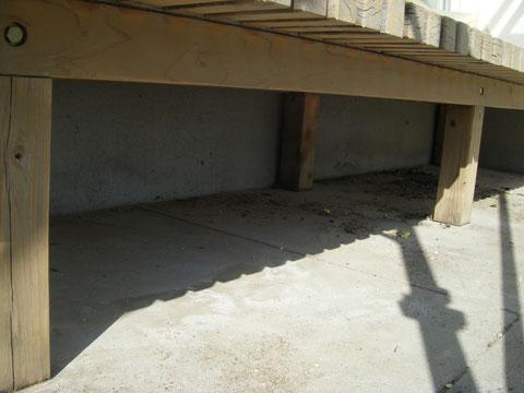 濡れ縁ウッドデッキ塗装 熊本H様邸