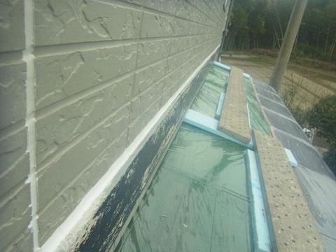 帯上防水対策後 塗替え前は徹底的に!
