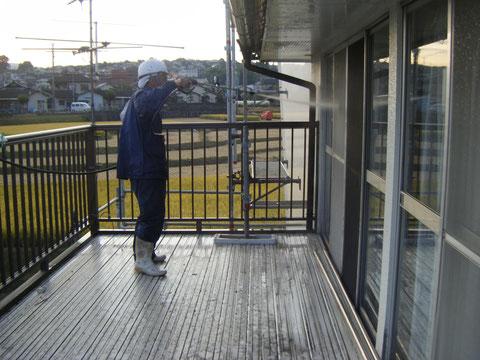 外壁高圧洗浄 熊本T様邸