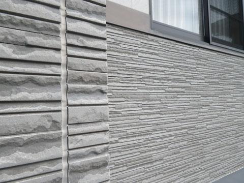 熊本市N様家の外壁塗装前です。