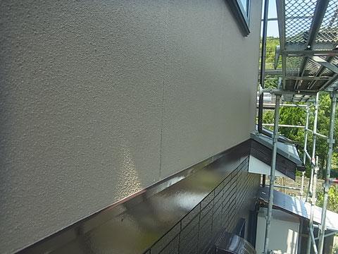 2階外壁塗装完成 熊本I様邸