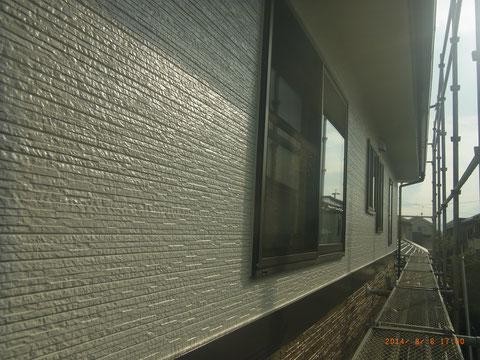 外壁サイディング塗装 シリコン塗料使用 熊本Y様邸