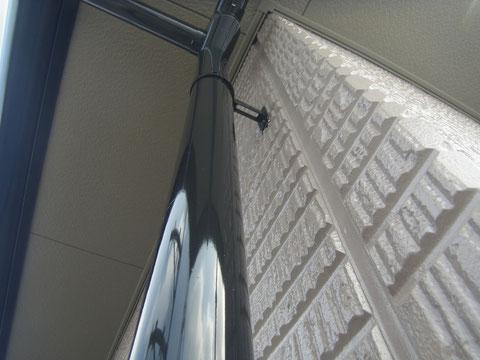 熊本の樋塗装完成状況