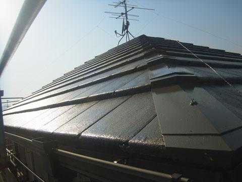 熊本〇様邸屋根塗装完成4(モニエル)