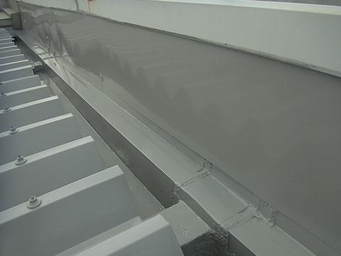 屋根塗装前の点検 雨漏り修理完了後塗替え