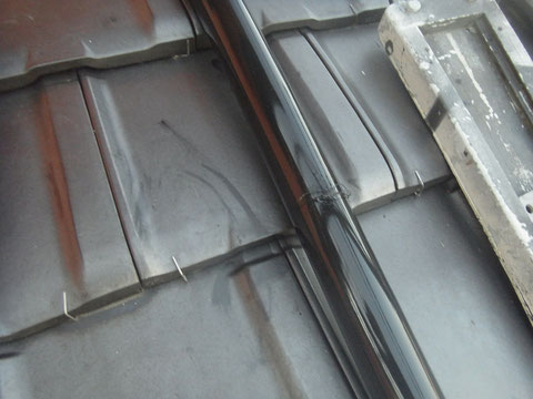 屋根トイ塗替え完成。関西ペイント 高耐久塗料使用。