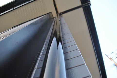 屋根塗装・外壁塗装後 AFTER 外壁と樋塗装完成。樋ピカピカ
