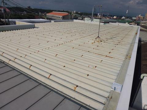 屋根塗装前の点検