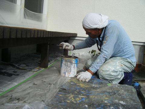 キシラデコール ウッドデッキ塗装 熊本県H様邸