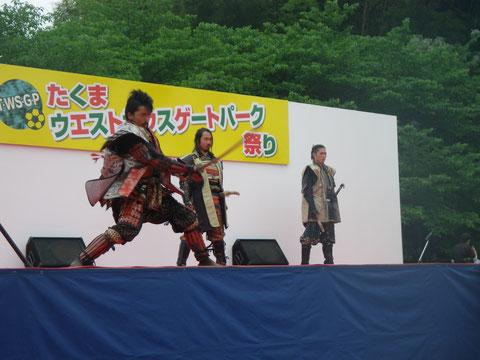 熊本城 おもてなし武将隊 IN 熊本 長嶺