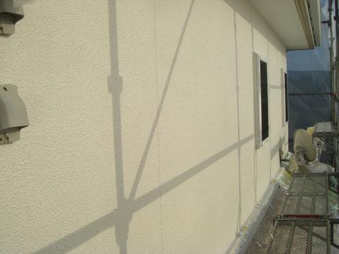 熊本県H様邸外壁仕上げ塗装完了。