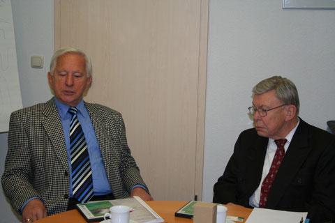 Gostitelja g. Woelke (desno) in g. Jerebic - Foto: Z. Simon