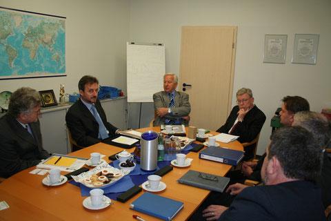 Uvodni sestanek v podjetju Woelke - Foto: Z.Simon