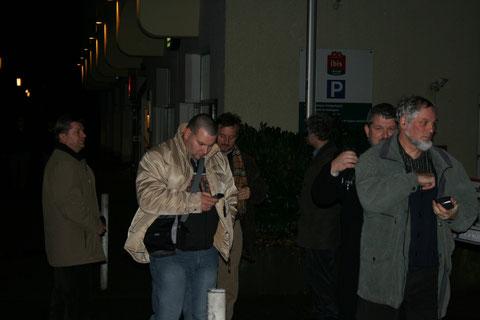 Prihod v hotel Ibis v Essnu - Foto: Z. Simon