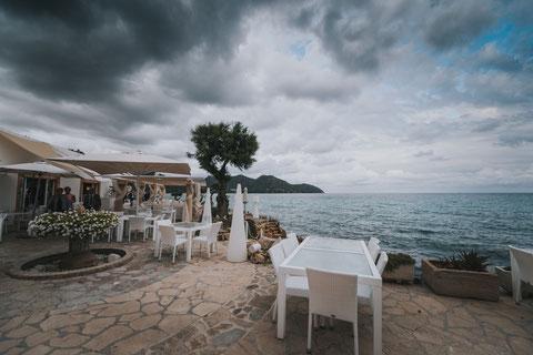 Traumhaftes Restaurant direkt am Meer