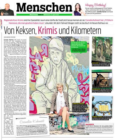Cornelia Kuhnert 111 Orte in hannover
