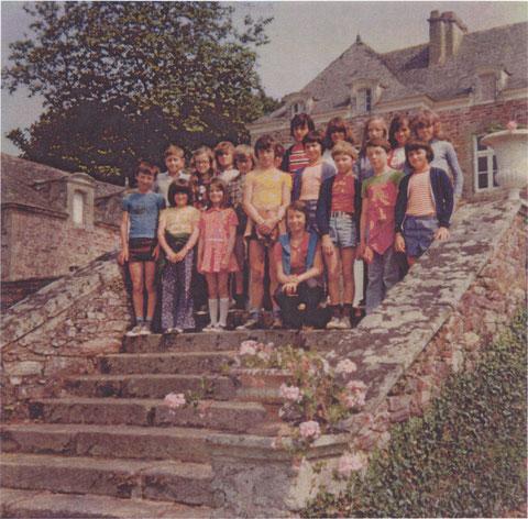 Juin 1975 - Château de LEHELEC