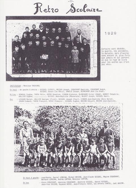 Retro Scolaire - 1929