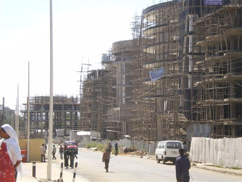 Le boum économique, la construction.