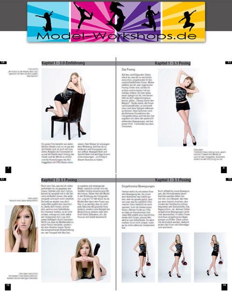 Modeln Fotoshooting