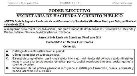 CLIK PARA VER DIARIO OFICIAL DEL 11 DE JULIO 2014