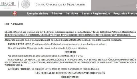 CLIK PARA VER DIARIO OFICIAL DEL  14 DE JULIO 2014