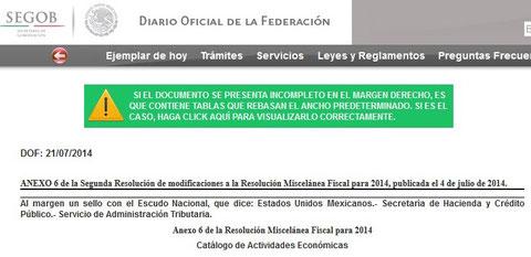 CLIK PARA VER DIARIO OFICIAL DEL 21 DE JULIO 2014.