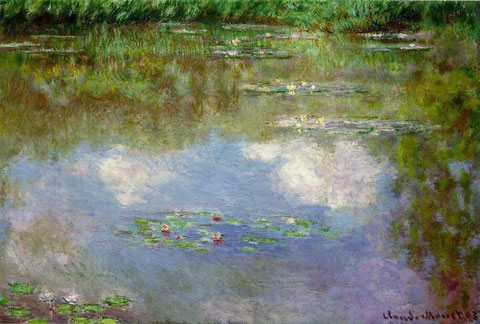 Ninfeas. Claude Monet.