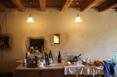 vitrail fenestrou atelier olivette rouge de cuivre jaune d'argent grisaille