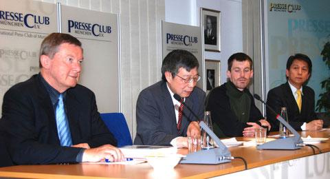 Kulturbeziehungen pflegen - hier mit Taiwans Generaldirektor Chou in München