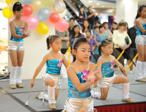 Baton Twirling event1