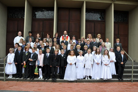 Kommunionkinder 2010