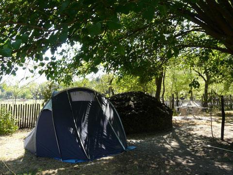 Zelten mit Genuß