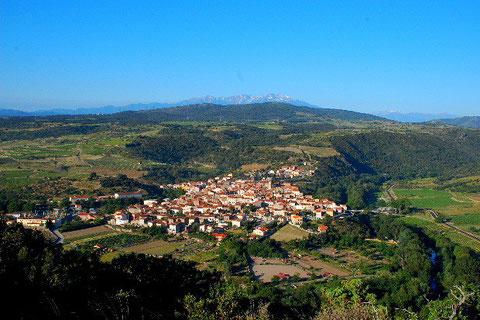Latour de France  où il est né dans les Pyrénées Orientales