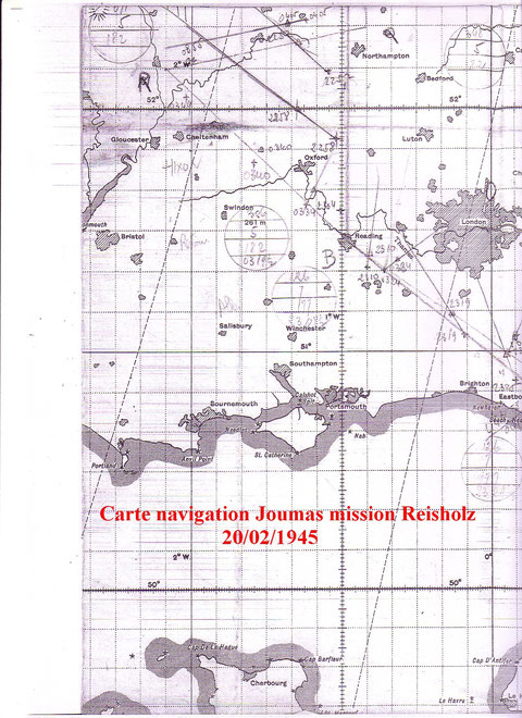 sa carte de navigation de cette avant dernière mission...