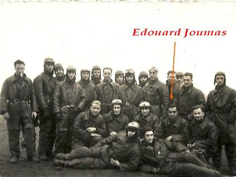 Edouard Joumas vraissemblablement pendant son école d'observateur