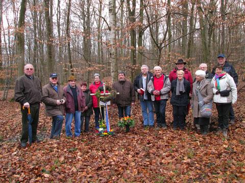 Avec nos amis de Löllbach et leur maire Hary Schneider