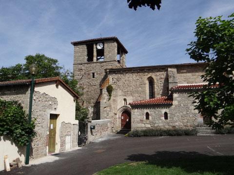 l'église d'Estandeuil