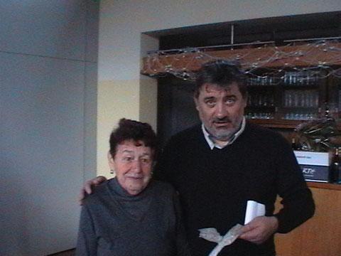 Jean Michel et la personne qui possédait un fragment du NA547 et qui lui en a fait don en mémoire de son oncle Guy Bourreau  Cette dame avait 12 ans au  moment des faits