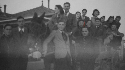 Guy Bourreau pendant ses loisirs au Maroc Ratto 16 janvier 1942