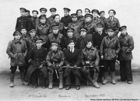 Bayle à Tavaux en novembre 1939   1er en haut à gauche collection Vincent Gilberti