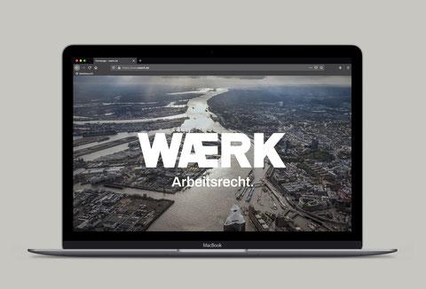 WAERK Arbeitsrecht Website