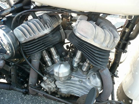 エンジンはSV(サイドバルブ)