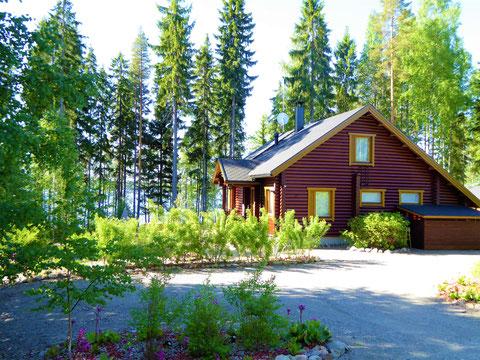 Ferienhaus am See Skandinavien