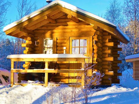 Wintersauna Finnland