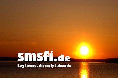 Der große Päijänne See. Sonnenuntergänge wie am Meer erleben!
