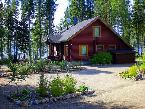 Ferienhaus am See Sunny Mökki Sysmä