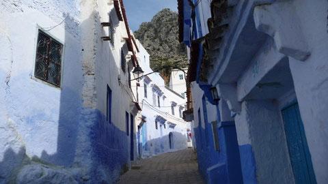 Une rue de Chefchaouen